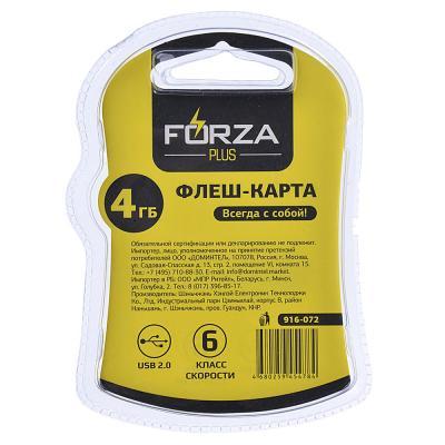 916-072 FORZA Флеш-карта, 4 гб