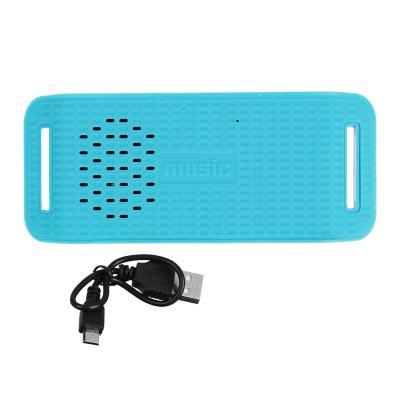 916-090 Аудиоколонка FORZA беспроводная, софт-тач, 13х5,5х3,6 см, 300 мАч, 5 цветов