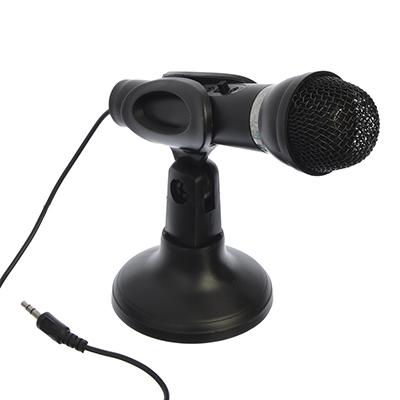 Микрофон, со стойкой, mini Jack