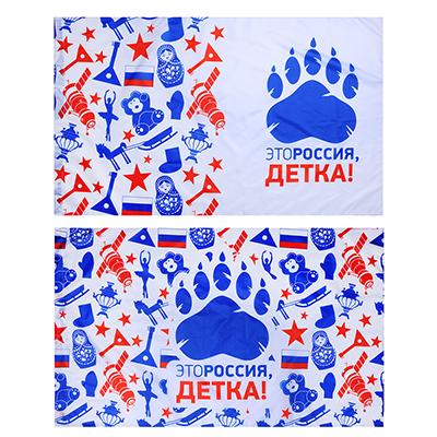 528-237 Флаг 90х145см, Это Россия, детка!, полиэстер, 2 дизайна