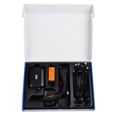 944-001 NEW GALAXY Парктроник, 4 датчика, LED-экран, биппер, 12 В, датчики красные