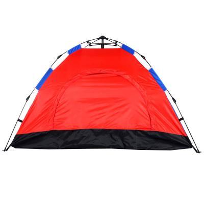 122-053 Палатка 2-местная ЧИНГИСХАН Автомат, 200х145х125см, нейлон 170T, дно оксфорд 150D