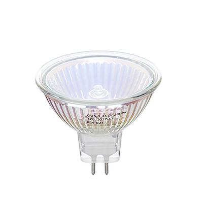 624-021 ЕРМАК Лампа галогенная рефлекторная MR16, GU5,3, 12 В, 35 Вт