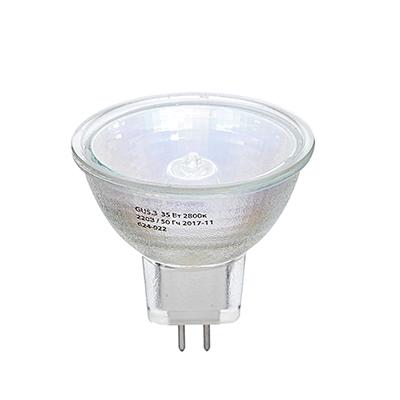 624-022 ЕРМАК Лампа галогенная рефлекторная JCDR, GU5,3, 220 В, 35 Вт