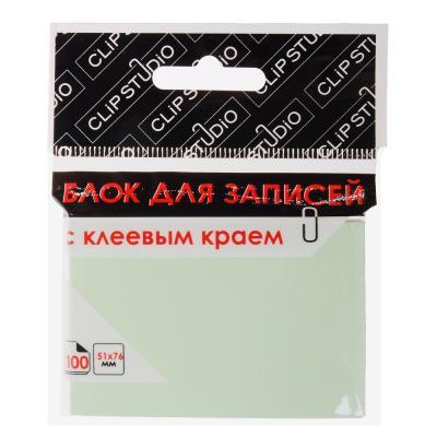 533-019 Блок с клеевым краем ClipStudio 100 листов, 4 цвета