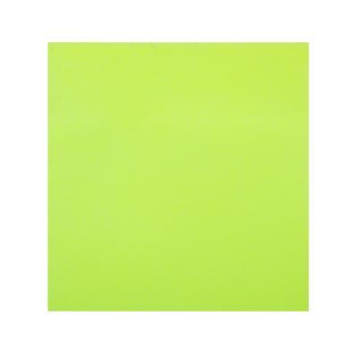 533-034 Блок с клеевым краем неоновый 76x76мм, 100 листов, зеленый, ClipStudio