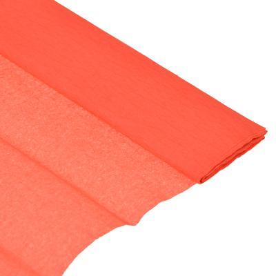 558-010 Гофрированная цветная бумага красная в рулоне 50х200 см