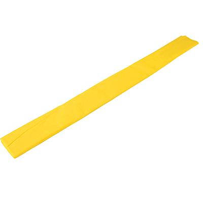 558-014 Гофрированная цветная бумага желтая в рулоне 50х200 см