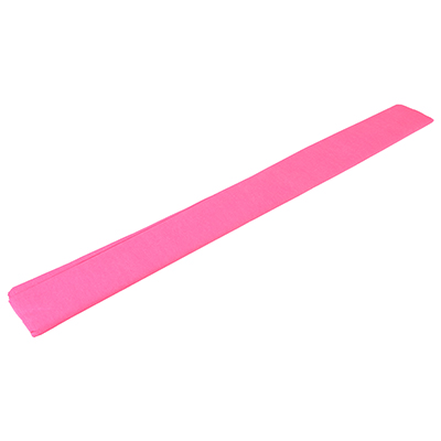 558-016 Гофрированная цветная бумага розовая в рулоне 50х200 см