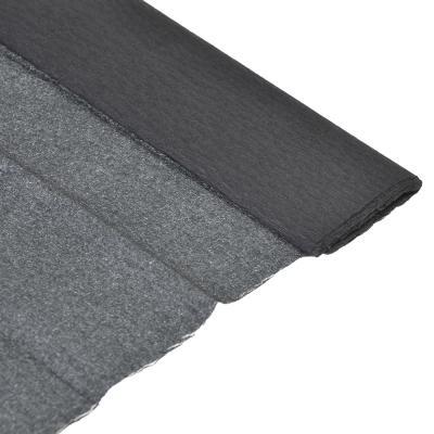 558-017 Гофрированная бумага 50х200см, черная