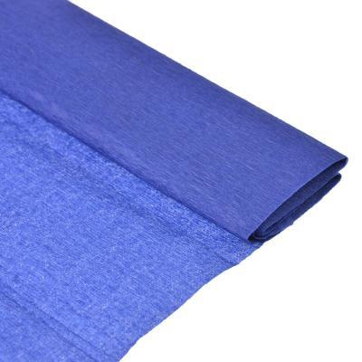 558-019 Гофрированная цветная бумага фиолетовая в рулоне 50х200 см