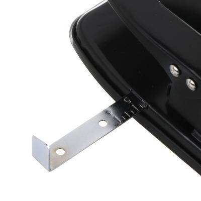 598-022 Дырокол ClipStudio мощный на 25 листов, черный