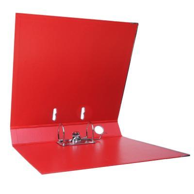 591-030 ClipStudio Папка с арочным механизмом A4 корешок 5см двойной PP, с мет.окантовкой, красная