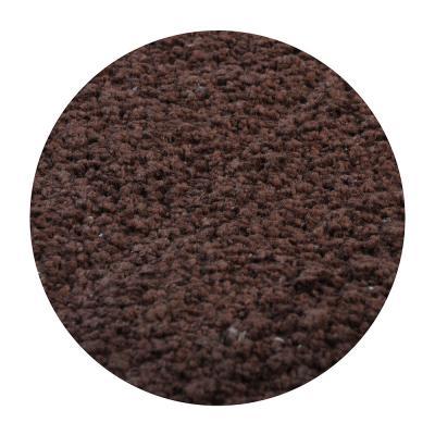 599-042 Коврик для ванной Велюр 50х80см, хлопок, б/п, коричневый