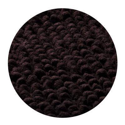 599-044 Коврик для ванной Пузыри 50х80см, хлопок, б/п, коричневый