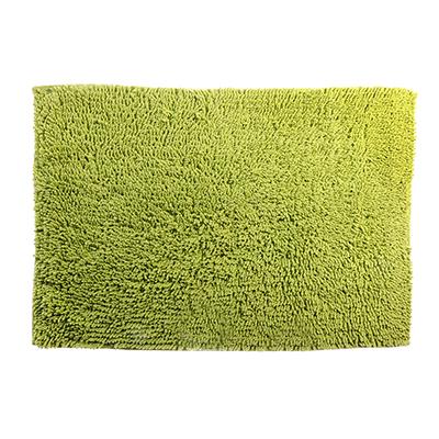 599-047 Коврик для ванной Петля 50х70см, хлопок, б/п, зеленый