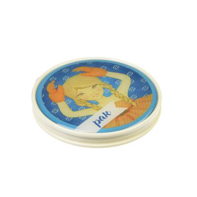 301-224 Карманное зеркало со знаками зодиака, круглое d. 7 см, пластик, стекло, 12 дизайнов