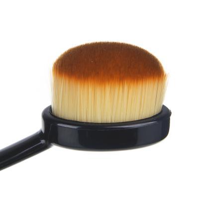 357-154 Кисть для растушевки ВВ-крема/консилера #5, 13,5см, пластик, иск.мех, 1 дизайн