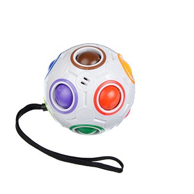"""214-003 Головоломка Мячик """"Подбери цвета"""", пластик, 7,5х7,5см"""