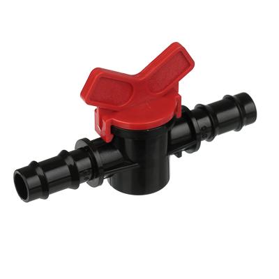 169-023 Кранпроходной для шланга, пластмасса, d16x16 мм, 3х10х6