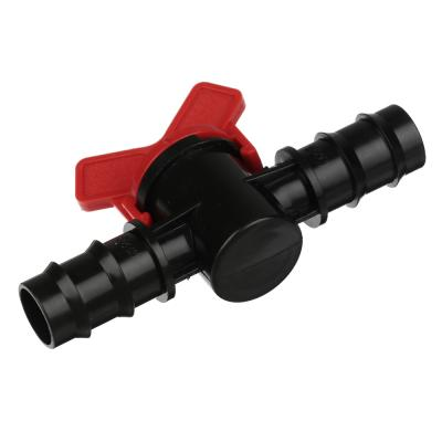 169-024 Кранпроходной для шланга, пластмасса, d20x20 мм, 3х10х6