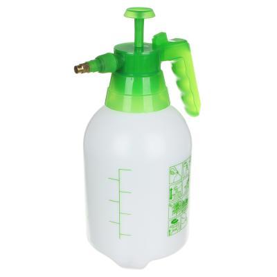 166-020 Пульверизатор помповый INBLOOM 2,4 л, 30 см, пластик, бело-зеленый