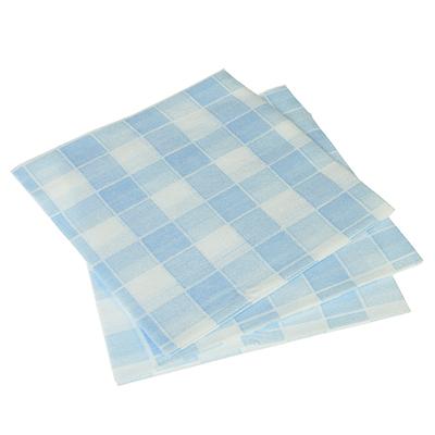 448-245 VETTA Салфетки для кухни 3шт, вискоза, 30x30см, клетка (розовый, голубой)
