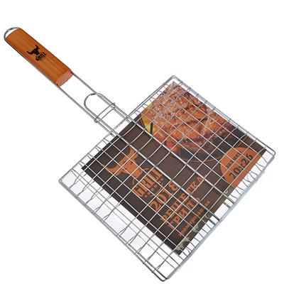104-045 GRILLBOOM 2018 Решетка-гриль хром., 44х(20х26)см