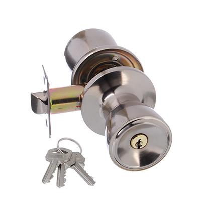 618-117 LARS Замок 5762-01 матовый хром с ключом