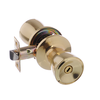 618-122 LARS Замок 5762-03 матовое золото с фиксатором