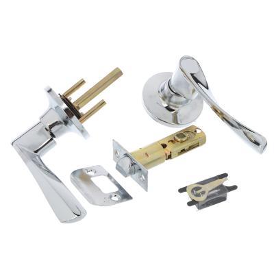 617-309 LARS Замок 0762-05 хром без ключа, без фиксатора