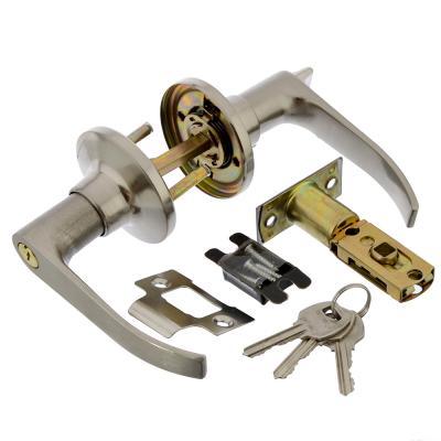 617-317 LARS Замок 3182-01 матовый хром с ключом