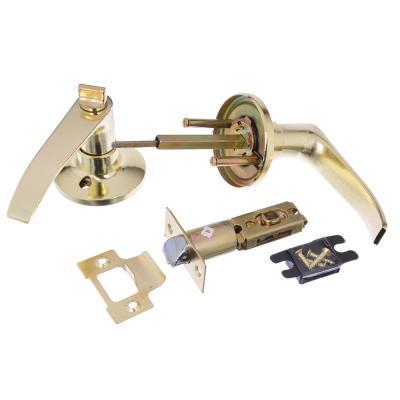 617-320 LARS Замок 3182-03 золото c фиксатором, блистер