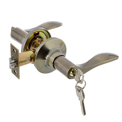 617-332 LARS Замок 3187-01 бронза с ключом