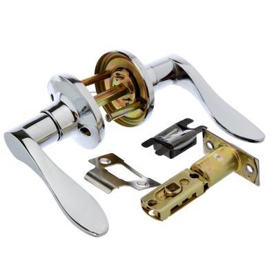 617-337 LARS Замок 3187-05 хром без ключа, без фиксатора