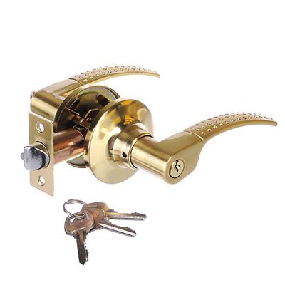 617-347 LARS Замок 8026-01 матовое золото c ключом