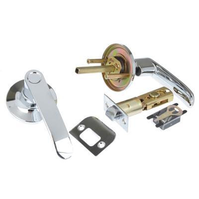 617-362 LARS Замок 8082-05 хром без ключа, без фиксатора