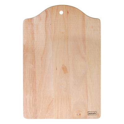 851-162 Доска разделочная деревянная SATOSHI, гевея, 34x23x1 см