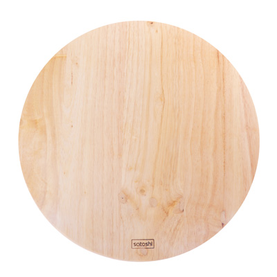 851-167 SATOSHI Доска разделочная гевея круглая d30x1,5см