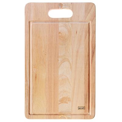 851-170 Доска разделочная деревянная SATOSHI, гевея, 43х26х1,5 см