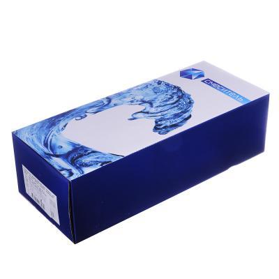 566-367 Смеситель Klabb 17S для ванны, дл. изогн. излив 30см, керам. картридж 40мм темно-серая вст, хром D