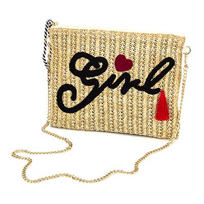 326-031 PAVO Клатч женский с вышивкой, целлюлоза, 29х22х1см, 3 дизайна, СЖ18-43