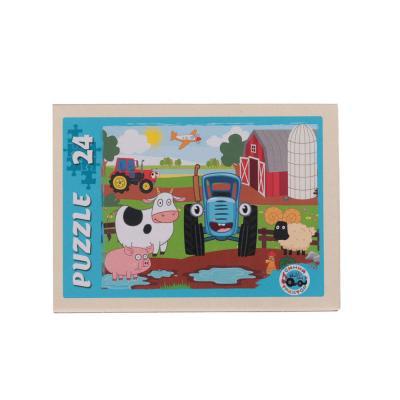 898-008 РЫЖИЙ КОТ Пазлы 24 детали микс, картон, 17,5х13см, 16-32 дизайна