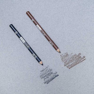 330-250 Карандаш для бровей тон 02 коричневый, 1,3 гр, ЮниLook КБ-19
