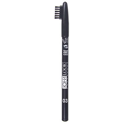 330-251 Карандаш для бровей тон 03 графит, 1,3 гр, ЮниLook КБ-19