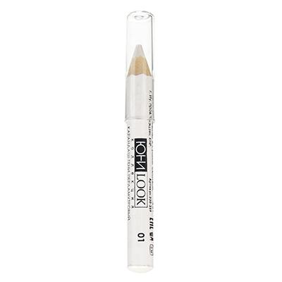 330-259 Тени-карандаш для век тон 01 перламутровый, 3,5 г, ЮниLook ТК-19
