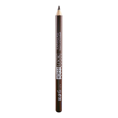 330-274 Карандаш для глаз тон 02 темно-коричневый, 1,7 г, ЮниLook КГ-19