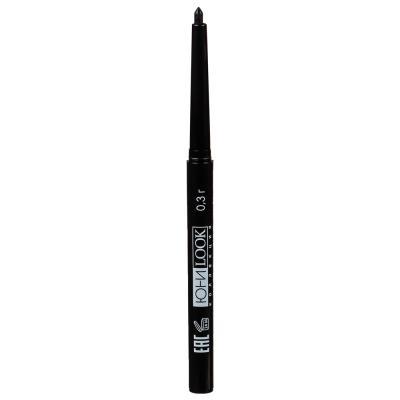 330-285 Карандаш для глаз выкручивающийся, тон 01 черный, 0,3 г, ЮниLook КА-18