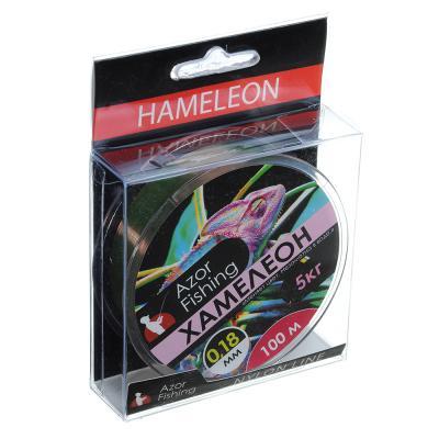 "144-062 AZOR FISHING Леска, ""Хамелеон"" 100м, 0,18мм, разрывная нагрузка 5 кг"