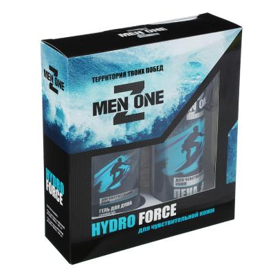 954-005 Набор подарочный мужскойMENZONE HYDRO FORCE (гель для душа, пена для бритья)0824 0870